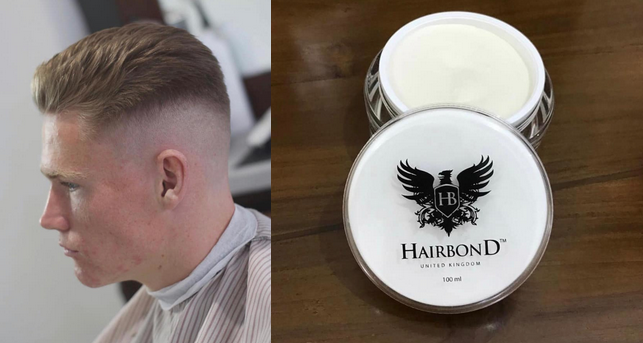 Scott McTominay hair with Hairbond Moulder