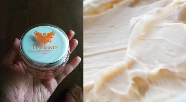 hairbond shaper up close and in hand