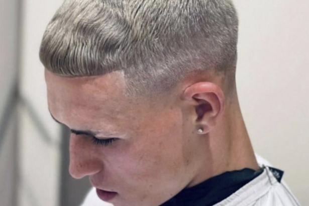 Phil Foden haircut