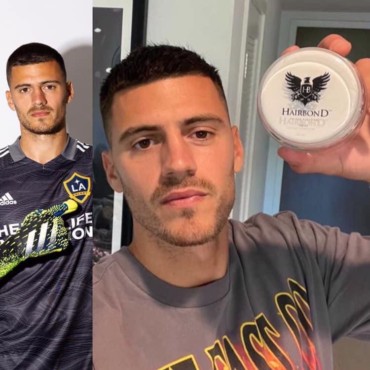 Jonathan Bond goalkeeper hairbond
